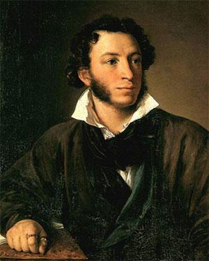 А. С. Пушкин Портрет работы В. Тропинин 1827 г.