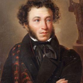 Портрет Пушкина, худ. О.А. Кипренский, 1827г. Холст, масло.
